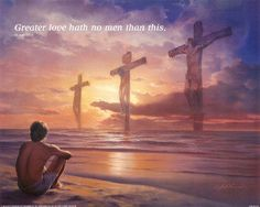 Greater Love...Christian posters and prints.