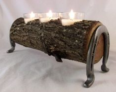 80 Creative DIY Christmas Candle Holders Ideas to Makes Your Room More Cheerful – wood working projects - Diy Furniture Horseshoe Projects, Horseshoe Crafts, Horseshoe Art, Wood Projects, Woodworking Projects, Woodworking Horse, Horseshoe Ideas, Intarsia Woodworking, Welding Projects