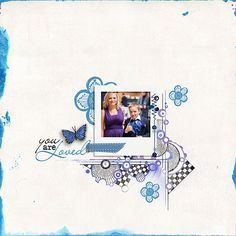 Life in Color - Blue by Vicki Stegall Designs and Val C. Designs Creative Box Collection ArtBits2 by Val C. Designs