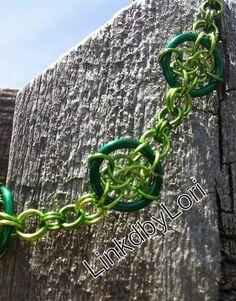 Celtic Circles Bracelet!! | Linkdbylori - Jewelry on ArtFire
