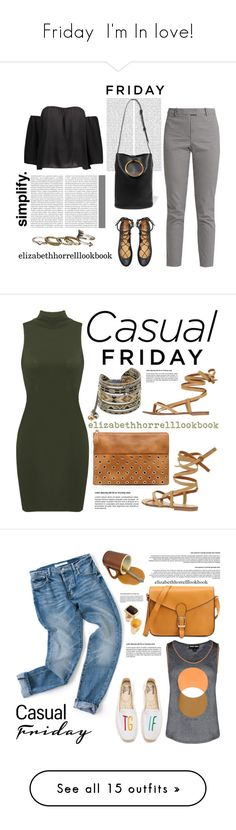 """""""Friday  I'm In love!"""" by elizabethhorrell ❤ liked on Polyvore featuring friday, casualfriday, Oris, STELLA McCARTNEY, MIA, Altuzarra, maurices, Chico's, Mishky and Emporio Armani"""
