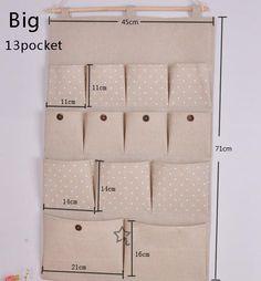 Товары для хлопок башня стиль для хранения сумка 2 размер настенный сумки многослойные мода пастырской стиль хранения мусора, принадлежащий категории Сумки для хранения и относящийся к Для дома и сада на сайте AliExpress.com | Alibaba Group
