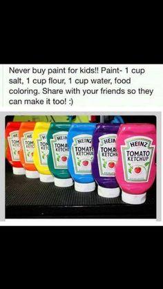 Kids DIY paints