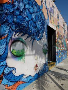 os gemeos au wynwood art distric de Miami