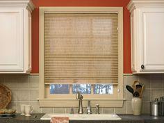 Trendy Kitchen Lighting Over Sink Window Curtains Kitchen Window Treatments, Window Decor, Kitchen Sink Window, Kitchen Window Coverings, Pleated Shade, Kitchen Window Curtains, Kitchen Window, Kitchen Sink Lighting, Blinds For Windows
