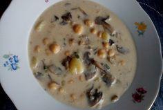 Cizrnová polévka se žampiony Cheeseburger Chowder, Soup, Soups