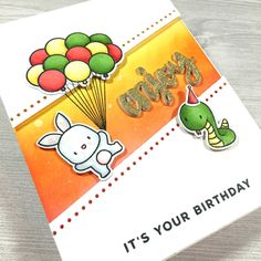 Bubblegum Paper: Birthday Gift Card - Happy Birthday, Jeremy!
