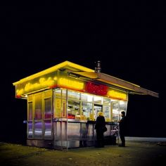 """devidsketchbook: """" EITERQUELLEN BY STEFAN FURTBAUER Photography by Stefan Fürtbauer - """"…is an ongoing project about Viennese Diners and the little different Viennese fast-food culture. Most of the time these diners are isolated islands of food supply. Urban Photography, Night Photography, Street Photography, Advanced Photography, Contemporary Photography, Nocturne, City Lights, Small Towns, Techno"""