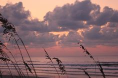 Isle of Palms, South Carolina, USA at Sunset