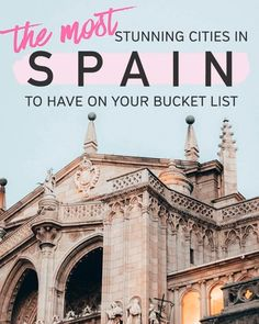 [Travel Europe Destinations] Planning a trip to Spain? Aside from Barcelona, there are so many beautiful places to visit in Spain - Bilbao, Madrid, Malaga to name a few. It can be overwhelming to pick where to visit in Spain, but fret not! This article highlights all the underrated places in the country and shows you exactly where to travel in Spain according to your taste! There's even a map to make your road trip in Spain a breeze! Europe Destinations, Places In Europe, Europe Travel Tips, Best Places To Travel, Italy Travel, Cool Places To Visit, Trip To Europe, Spain Places To Visit, Poland Travel