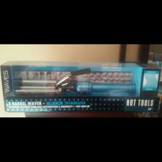 Hot tools triple barrel waiver Titanium hair waiver brand new in box Other