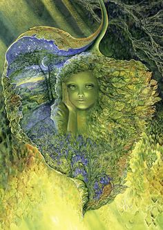 Leaf Child - Josephine Wall