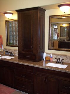 1000 images about profile pictures on pinterest kitchen designs granite countertops and for Bathroom vanity storage tower