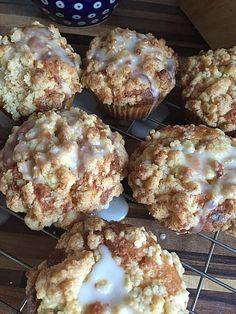 Marzipan - Apfel - Muffins mit Zimtstreuseln, ein tolles Rezept aus der Kategorie Kuchen. Bewertungen: 25. Durchschnitt: Ø 4,6.
