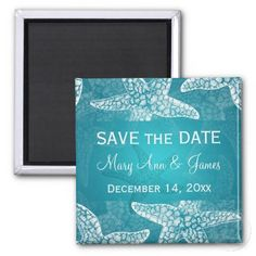 beach save date gifts