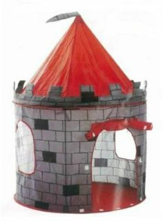 Ikea Kids Castle Tent Pop Up Play Reading Area Indoor