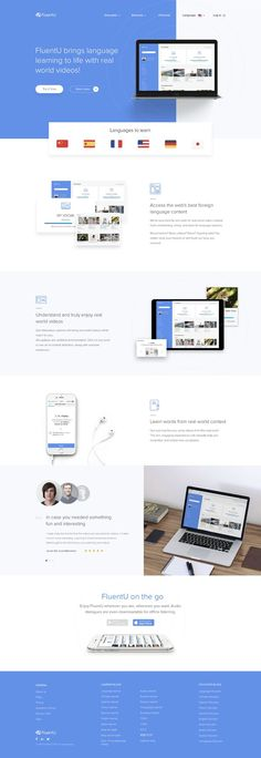 This is our daily Web app design inspiration article for our loyal readers. Every day we are showcasing a web app design whether live on app stores or only designed as concept. Design Sites, Website Design Services, Web Design Company, Ux Design, Website Designs, Design Agency, Layout Design, Creative Web Design, Best Web Design