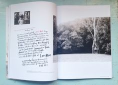 Studio of Mae // magazine layout