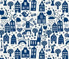 Delft Fabric.....I need this!