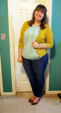 Undergraduate Style: Mixing mustard and mint!