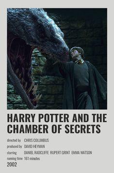 Harry Potter Draco Malfoy, Harry Potter Tumblr, Harry Potter Fandom, Harry Potter Movie Posters, Chamber Of Secrets, Vintage Polaroid, Alternative Movie Posters, Minimalist Poster, Scrapbook