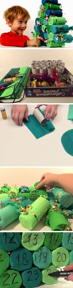 Advent Calendar | 20+ DIY Christmas Crafts for Kids to Make