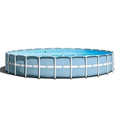 Intex 24ft X 52in Prism Frame Pool Set  Durable & easy to assemble, prism frame pools feature all of the great benefits of metal frame pools, and are enhanced with strong powder-coated Steel Tubing and a stylish, upscale looking liner color Hydro aeration technology has been incorporated into the cartridge filter pump providing improved circulation and filtration, improved water clarity, and...