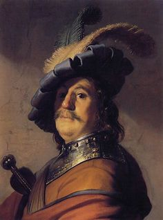MyStudios- Rijn van Rembrandt, Bust of a Man in a Gorget and Cap