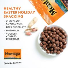 Moms and dads, we know that Easter often means CHOCOLATE OVERLOAD. So much sugar… so much energy… and then comes that awful 'sugar crash'. Sound familiar?  Your kids can enjoy Easter with half the sugar with these healthier Easter snacking ideas:  #MontaguCoffee   #LoveMontagu   #MyMontagu   #ShareTheSunshine   #HealthyLifestyle