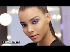 How To Wear Purple Makeup: Iridescent Eye - YouTube