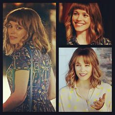 "I super love Rachel McAdams' hair in the movie ""About Time"". I'll prolly rock it minus the super short bangs though. :)"