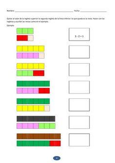 ISSUU - Matematicas con regletas de Jose Maria de Cuenca St Geo, Numicon, Math Boards, Math Facts, First Grade Math, Classroom, Teaching, Activities, School