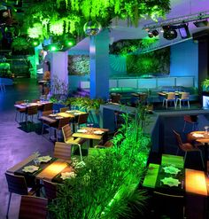 VERTICAL GARDEN INSTALLATION, REPLAY BARCELONA Erinnert mich an das Dschungel Restaurant im Disneyland Paris