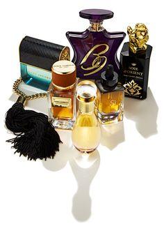 Marc Jacobs Decadence, $95, neimanmarcus.com; Bond No. 9 B9, $260, saksfifthavenue.com; Sisley Paris Soir d'Orient, $278, neimanmarcus.com; Giorgio Armani Sì Huile de Parfum, $120, bloomingdales.com; Dior J'Adore Touche de Parfum, $92, dior.com; Dolce