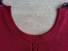 Tutorial: strikke og montere halskant