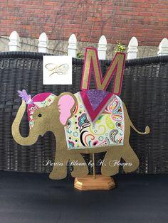 Elephant/Moroccan Theme Centerpieces/Moroccan Elephant