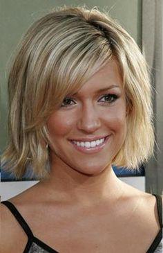Choppy Hair Cut with Side Fringe