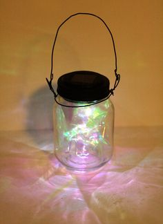 Hey, I found this really awesome Etsy listing at https://www.etsy.com/listing/188685513/hanging-fairy-light-mason-jar-solar