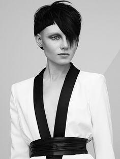 Hair: Akin Konizi @ HOB Salons Photography: Jenny Hands Make-up: Mary Jane Frost Stylist: Kate Ruth