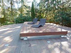 Le Rolling Deck, terrasse coulissante pour couvrir votre spa ou votre piscine…