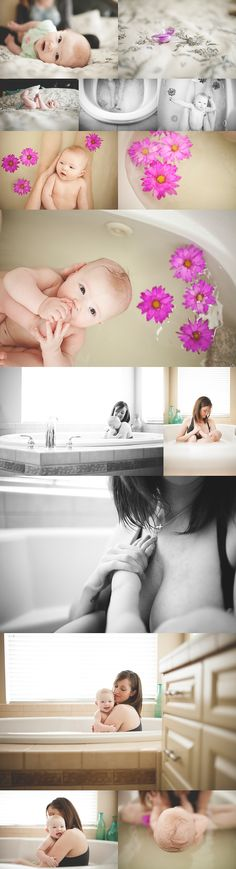Baby K's Herbal Bath | Tacoma Newborn Photographer - Bonnie Hussey Photography