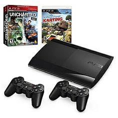 Sony PlayStation 3 12GB + 2 Mandos DualShock3 + 2 Videojuegos