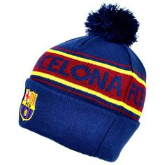 From 9.99 Official Fc Barcelona Navy Red And Yellow Bobble Hat 37432485819