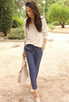 Zara  Pantalones, Louis Vuitton  Bolsos and Mango  Jerseys