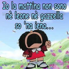 Mafalda di mattina:)
