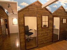 unusual small offices, cells and outdoor work spaces
