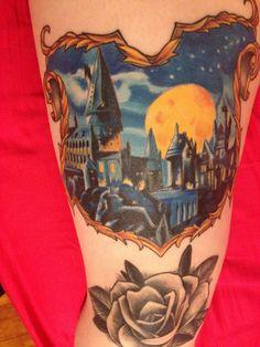 Hogwarts Harry Potter tattoo