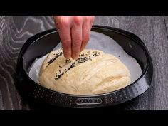Doar 8 minute pentru cea mai buna paine facuta acasa. | SavurosTV - YouTube Choux Pastry, Cake Pops, Camembert Cheese, Icing, Dairy, Appetizers, Bread, Cooking, Desserts
