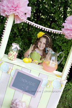 now I'm thinking I'll use that pallet for a lemonade stand