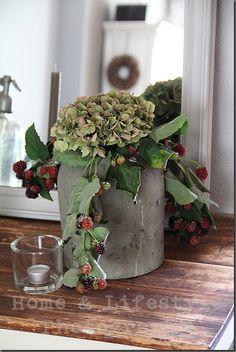 Home & Lifestyle: hortensia en bramentakken